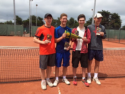 Congratulations to our junior boys who won the section 2 and 4 competitions recently.